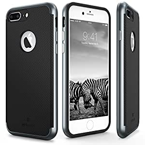 [2016]MYRIANN iPhone7 plus アイフォン7プラスケース サラリーマン用 ビジネス 男女兼用 落下 耐衝撃 保護 携帯カバー (ネイビー)