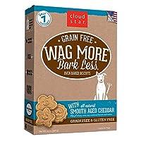ワグモアバークレス(WAG MORE Bark Less) グレインフリー ベイクド チェダーチーズ 396g
