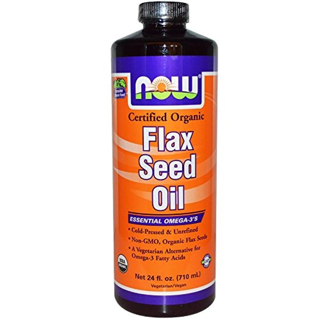 ローブ宣言重さFlax Seed Oil (Certified Organic) 24