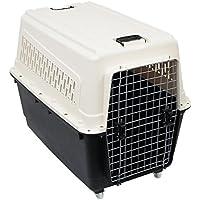 ペット キャリー 犬用 大型犬 エアトラベルキャリー キャリーバッグ キャスター付き (ホワイト) (ホワイト)
