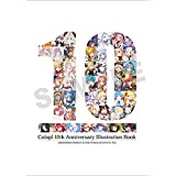 colopl 10th Anniversary Illustration Book 白猫 & 黒猫