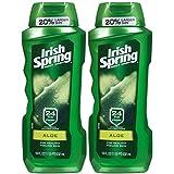 Irish Spring Body Wash Aloe 24 Hr Fresh 18 Oz by Irish Spring