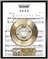 G.A.R.R. Cheap Trick Surrender 限定版 45RPMゴールドレコード ガーディアンズ・オブ・ギャラクシー サウンドトラック シート ミュージックポスター アートディスプレイ オリジナルレプリカスリーブ アート&レコードラベル