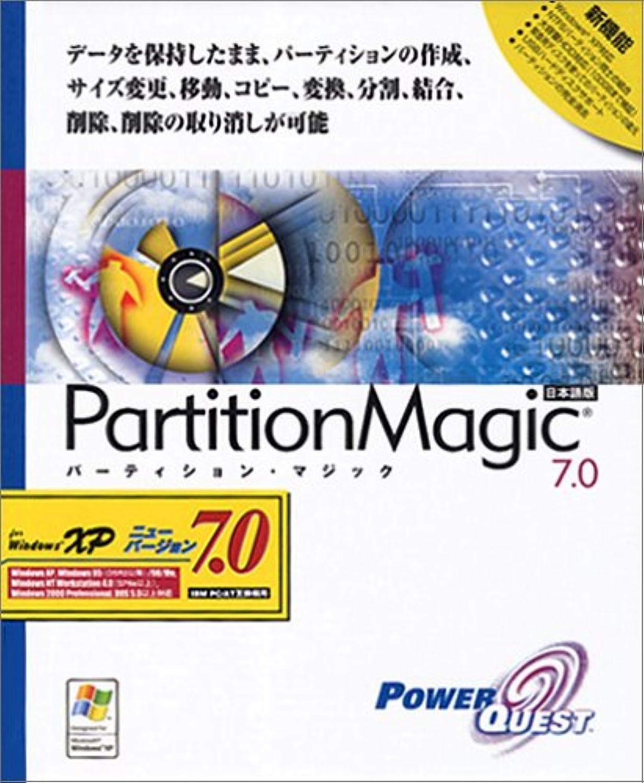 泥沼背骨拒否PowerQuest PartitionMagic 7.0 日本語版