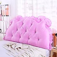 Super Kh® ベッドサイドクッションダブルピープソファバックレストは、ウエストピローを保護する (色 : 12#, サイズ さいず : 180*70*15cm)