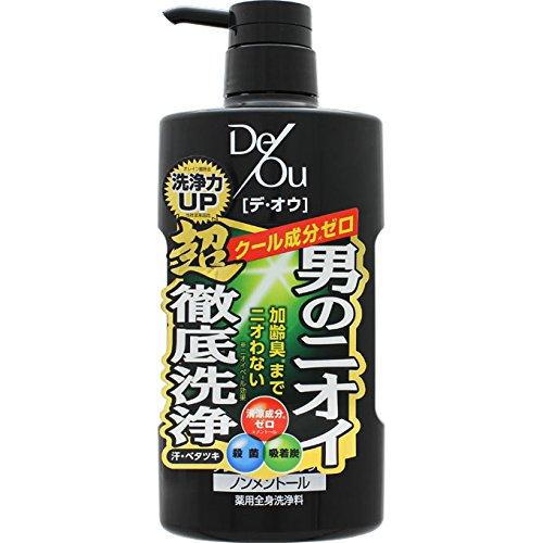 デ・オウ 薬用クレンジングウオッシュ ノンメントール ポンプ 520mL (医薬部外品)