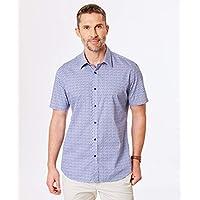 Gazman Men's Mercerised Thin Stripe Polo T Shirt,