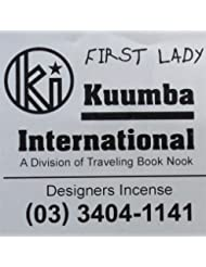 KUUMBA / クンバ『incense』(First Lady) (Regular size)