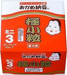 [冷蔵] タカノフーズ おかめ納豆極小粒ミニ 3連