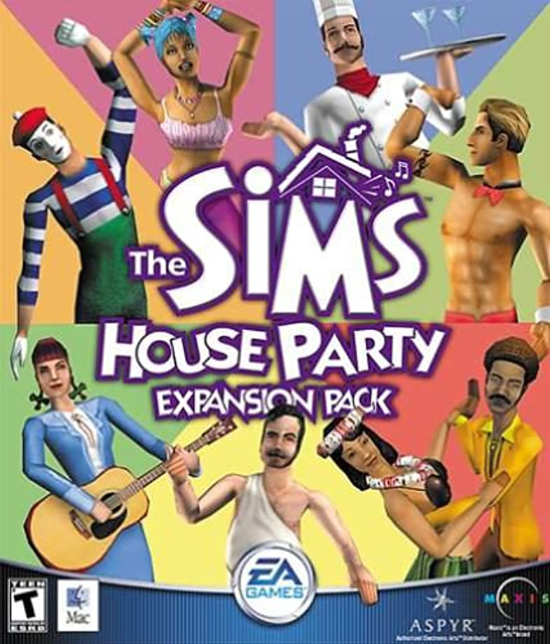 メモ海洋の状態The Sims House Party Expansion Pack ( Mac ) (輸入版)