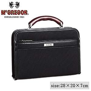 日本製 ビジネスバッグ McGREGOR(マックレガー) ダレスバッグ 21956 ブラック 【人気 おすすめ 】