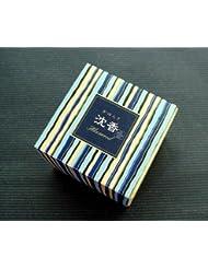 香木沈香の香り 日本香堂【かゆらぎ沈香 コーン12個入】香立付 【お香】