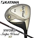 カタナゴルフ SWORD SNIPE XF ドライバー、フジクラ社製オリジナルカーボンシャフト (ロフト角:10.5度-R)