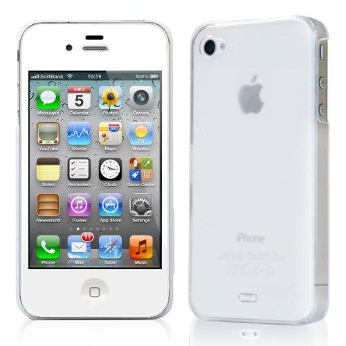 【正規品】 TUNEWERE eggshell for iPhone 4S/4 クリアホワイト TUN-PH-96