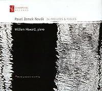 Novak: 24 Preludes & Fugues by William Howard (2011-05-31)