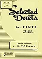 Selected Duets for Flute: Easy-medium (Rubank Educational Library)