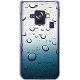 CaseMarket 【ポリカ型】 docomo AQUOS PHONE ZETA SH-02E ポリカーボネート素材 ハードケース [ Picture Collections - 蒼の水滴 ]