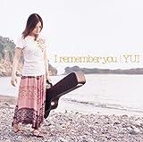 I remember you (初回限定盤)(DVD付) 画像