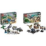 レゴ(LEGO)ジュラシック・ワールド バリオニクスの対決トレジャーハント 75935 ブロック おもちゃ 恐竜 男の子 & 解き放たれたきょうりゅう 75934 ブロック おもちゃ 恐竜 男の子【セット買い】