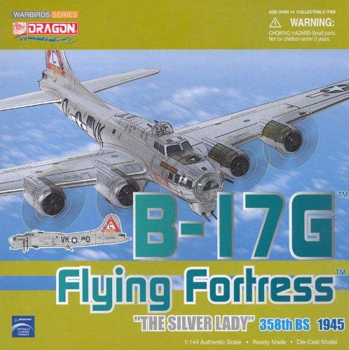 """ドラゴン 1/144 【51004】 B-17G フライングフォートレス 358th BS""""シルバー レディ"""""""