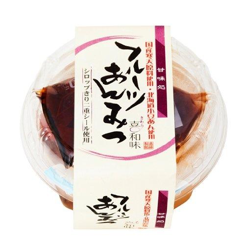遠藤製餡 甘味処 フルーツあんみつ 250g×6個
