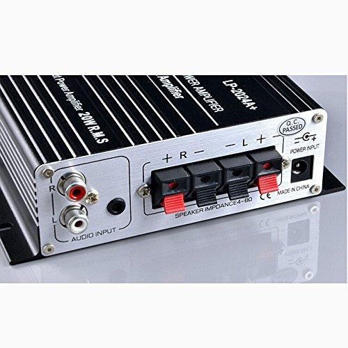 Lepy デジタルアンプ LP-2024A + TA2024 + 12V 5Aアダプター付属