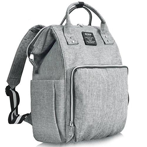 [해외]WandF 어머니 가방 엄마 가방 초경량 아기 용품 수납 가방 기저귀 좌석 유모차 후크/WandF Mothers Bag Mom Bag Ultra Lightweight Baby Products Storage Bag Diaper Sheet with Stroller Hook