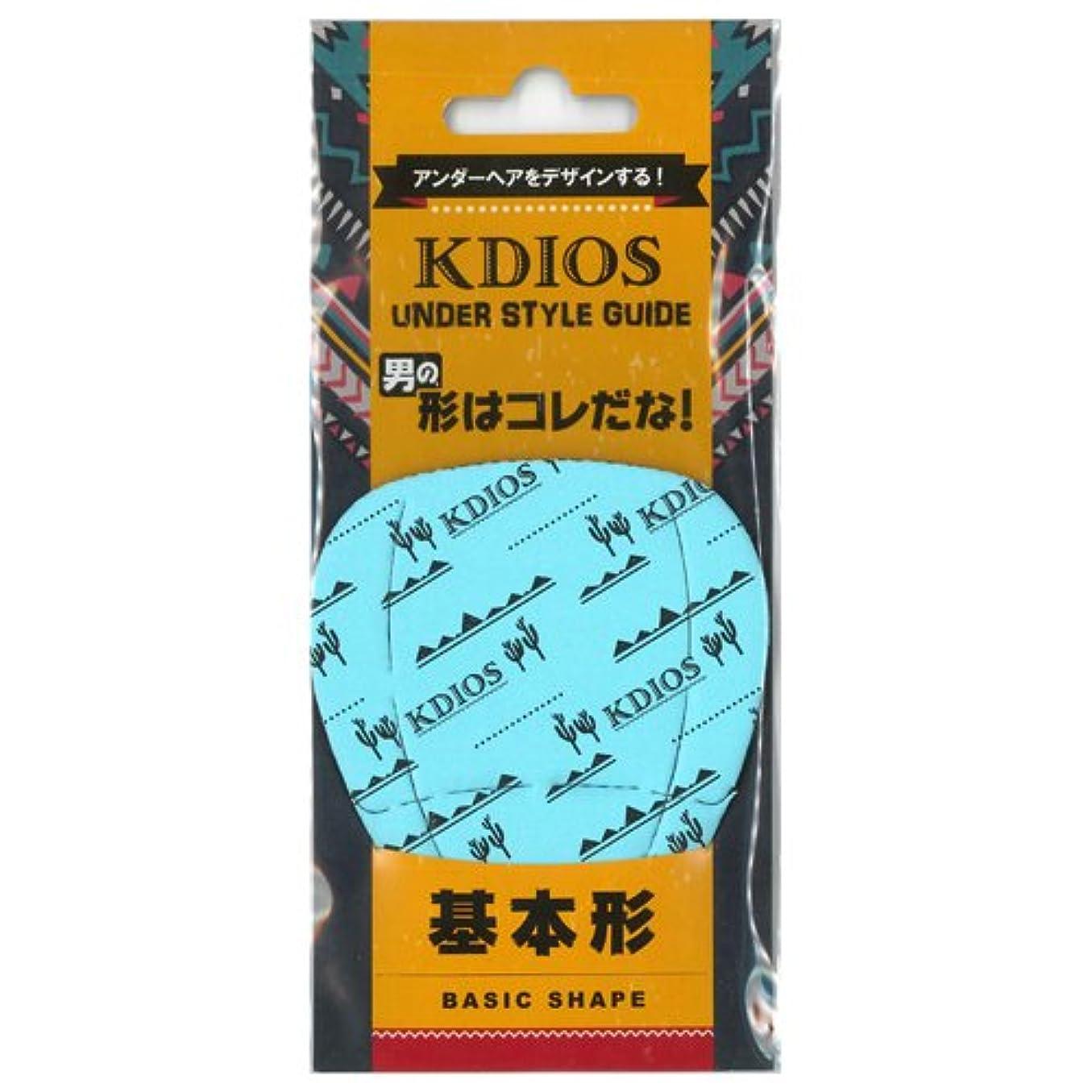 ドラフト天文学国歌KDIOS(ケディオス) アンダースタイルガイド 「基本形」 FOR MEN