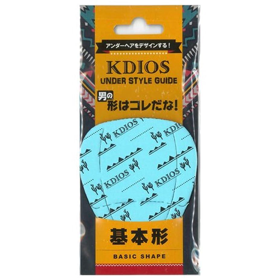 昨日神社眠るKDIOS(ケディオス) アンダースタイルガイド 「基本形」 FOR MEN