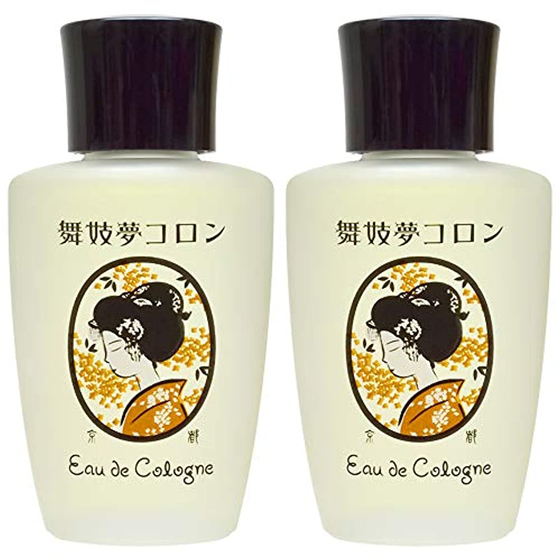 お手伝いさんメーター速い京コスメ 舞妓夢コロン 金木犀/きんもくせいの香り 2個セット 20ml×2個