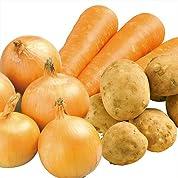 【 有機JAS 認定 】 カレーを < オーガニック100% > 野菜で作ろう! 大地の滋養たっぷり カレー 有機根菜セット 2kg 〔 じゃが芋 800g 玉葱 800g 人参 400g 〕 有機野菜セット