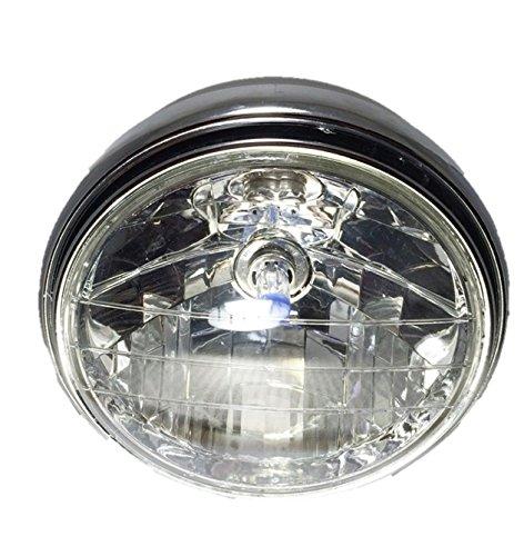 マルチ リフレクター ダイヤモンド カット ヘッド ライト ハロゲン ランプ レンズ Ф180 モンキー ゴリラ エイプ CB400SF CBX400 CB400F CB750F 等 汎用