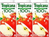 トロピカーナ 100% アップル 1000ml LLスリム×3本