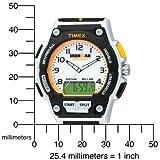 腕時計 アイアンマン トライアスロン 30ラップ コンボ ウレタンストラップ T5K200 フルサイズ メンズ タイメックス画像⑤