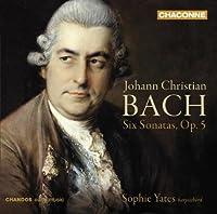 J.C Bach: 6 Sonatas for Harpsichord op5 by Sophie Yates (2009-09-29)