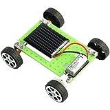 Fenteer 手と目の調整を育てる 電池不要 太陽発電 教育おもちゃのギフト 科学実験 子ども向け 知育玩具 DIYのソーラーカー 小型 モデルおもちゃ