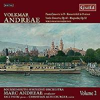Piano Concerto in D Konzertstuck in B Minor Violin