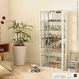 ナカムラ コレクションケース Colete コレテ 高さ100cm フィギュアケース ホワイト
