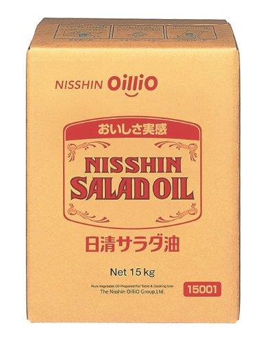 日清サラダ油 BIB 15Kg