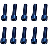 CYCLE PRO(サイクルプロ) アルミM5カラーボルト (10本入) CP-BO115-10