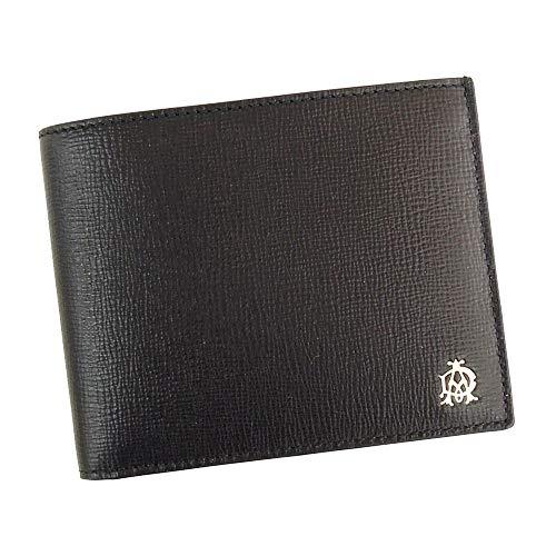 ダンヒル 二つ折 財布 ベルグレイブ L2S830A ブラック 小銭入れ無し dunhill [並行輸入品]