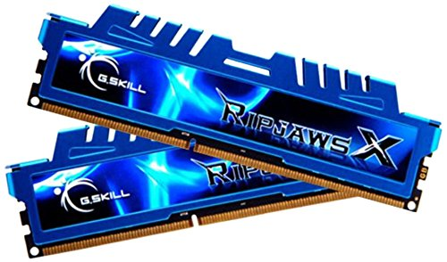 G.SKILL OCメモリ RipJawsX 4Gx2 DDR3-2400 F3-2400C11D-8GXM