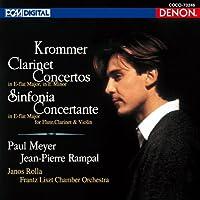 KROMMER: CLARINET CONCERTOS(reissue) by Paul Meyer / Jean-Pierre Rampal / Franz Liszt Chamber Orchestra (2011-12-21)