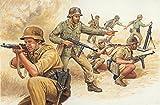 イタレリ 6076 1/72 第二次世界大戦 ドイツ兵 アフリカ戦線