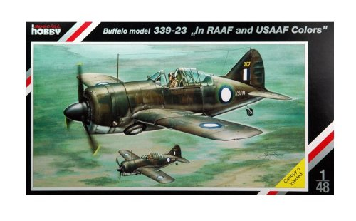 "1/48 Buffalo model 339-23 ""In RAAF and USAAF Colors"""