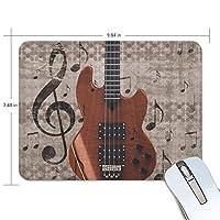 マウスパッド ミュージック ギター ゲーミングマウスパッド 滑り止め 19 X 25 厚い 耐久性に優れ おしゃれ