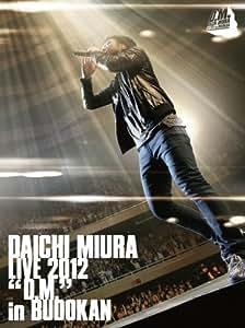 DAICHI MIURA LIVE 2012「D.M.」in BUDOKAN (初回生産限定)(2枚組DVD)【特典ステッカー付き】