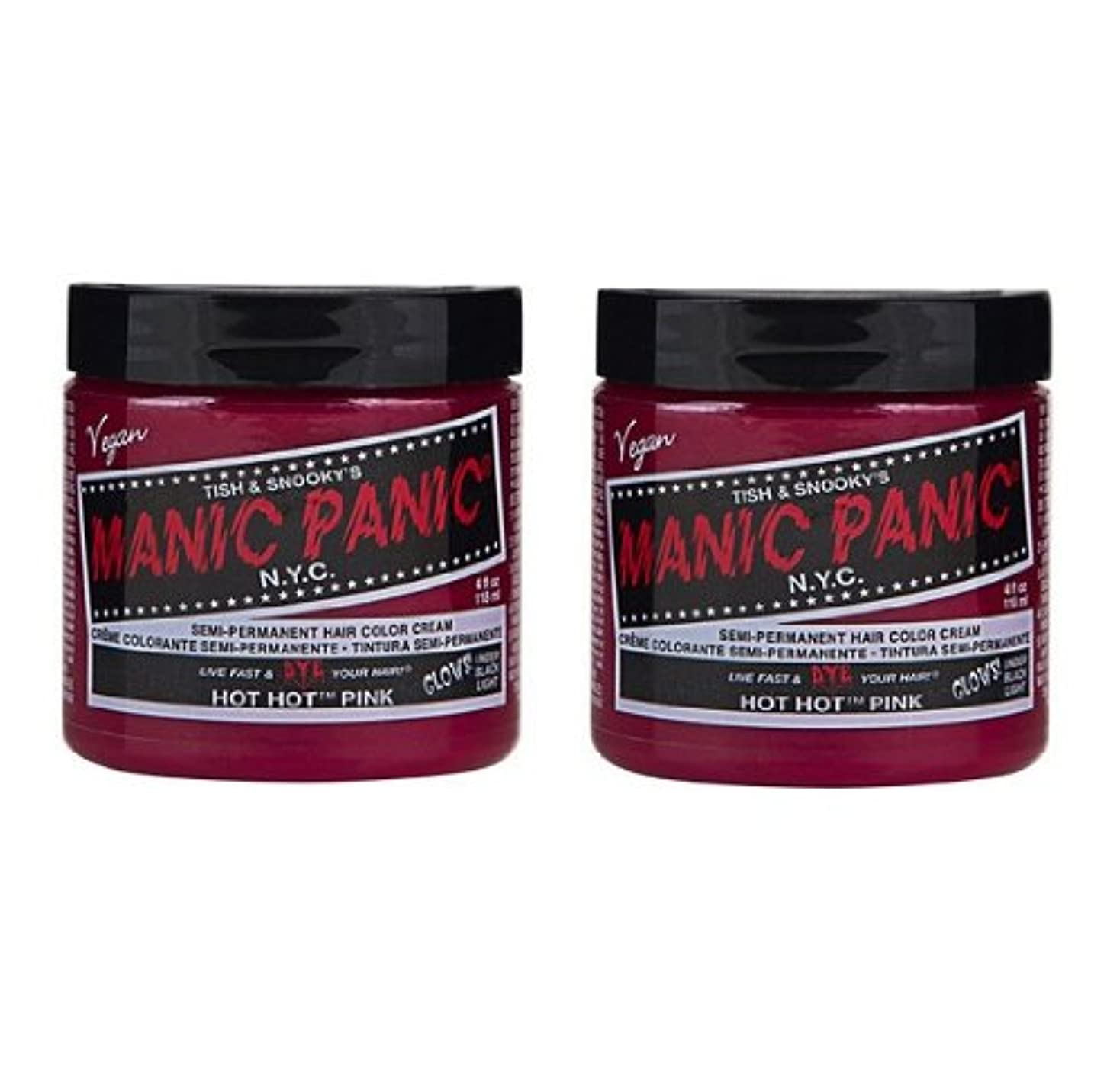 確執倫理持続的【2個セット】MANIC PANIC マニックパニック Hot Hot Pink ホットホットピンク 118ml