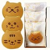猫 どら焼き どらネコ ねこ ドラ焼き お菓子 和菓子 3個 化粧箱入り