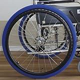 あい・あ~る・けあ 後輪用ホイルソックス 赤 特中(M) 幅:8.5cm (適応車輪サイズ:17~19inch) 車いす 車輪用靴下 洗濯ネット使用